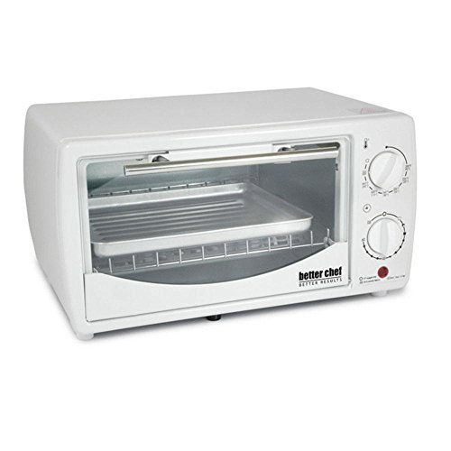 Price comparison product image Better Chef 9 Liter Toaster Oven Broiler-White consumer electronics Electronics