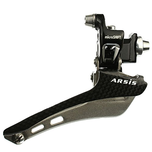 MICROSHIFT Carbon Wrap Road Bike Front Derailleur For Shimano Dura ACE Double by microSHIFT
