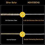 HOMEIDEAS 71-Inch Extra Long Shower Hose