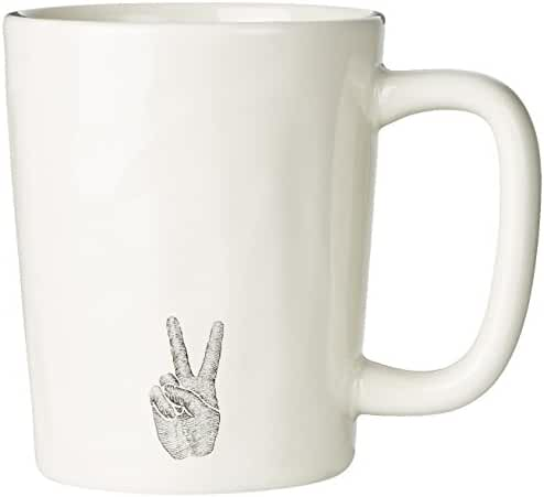 Life is good Adult Artisan Peace & Love Mug
