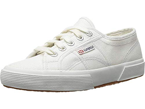 Superga Kids Unisex 2750 JCOT Classic (Toddler/Little Kid) White Sneaker 22 (US 6.5 Toddler) M (Superga Kids Classic Shoe)