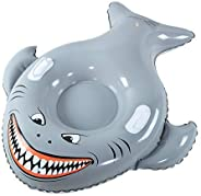 XFlated Meg Snow Tube, Inflatable Snow Tube Sled Heavy Duty, Megalodon Toy Kids, River Tube, 50 Inches