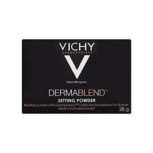 ヴィシー設定粉末28グラム x4 - Vichy Dermablend Setting Powder 28g (Pack of 4) [並行輸入品] B071KWKKRD