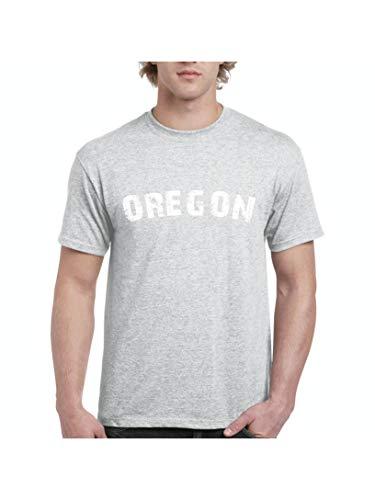 Oregon State Flag Portland City Traveler`s Gift Men's Short Sleeve T-Shirt (4XLSG) Sport -