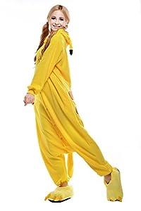 ReachMe Adult Carton Onesies Warm Soft Fleece Pajamas Cosplay Sleepwear Kigurumi