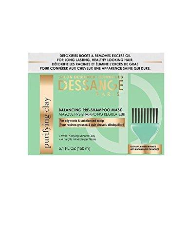 Dessange Balancing Pre-Shampoo Mask, 5.1 Fl Oz