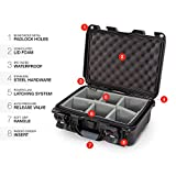 Nanuk 915 Waterproof Hard Case with Padded Dividers