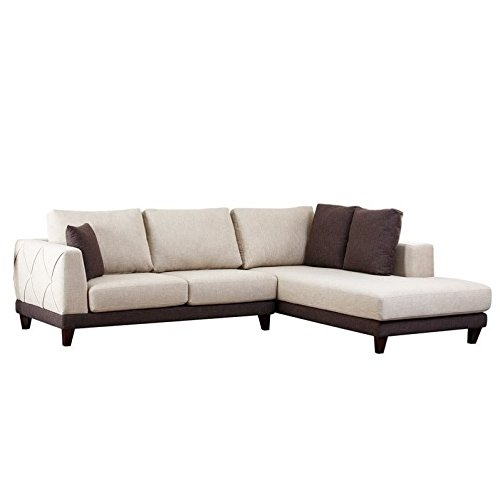 Abbyson® Living Juliette Fabric Sectional Sofa Explained