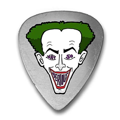 Why So Serious? Clown Face Green Hair Parody