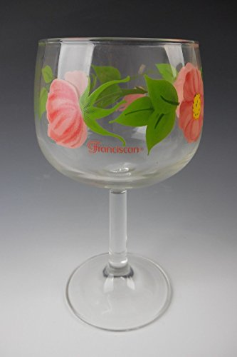 Franciscan Glass DESERT ROSE Water Goblet(s) EXCELLENT Franciscan Glassware