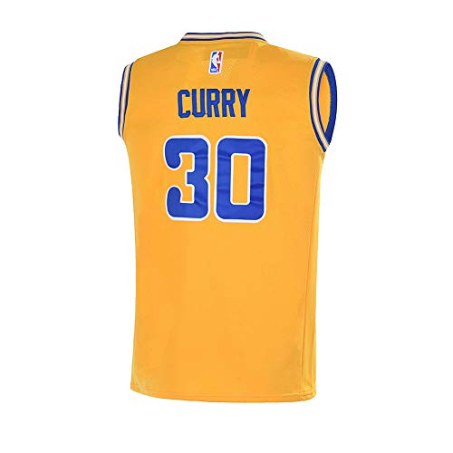 newest 92263 ce70c Youth 8-20 Golden State Warriors #30 Stephen Curry Jersey ...