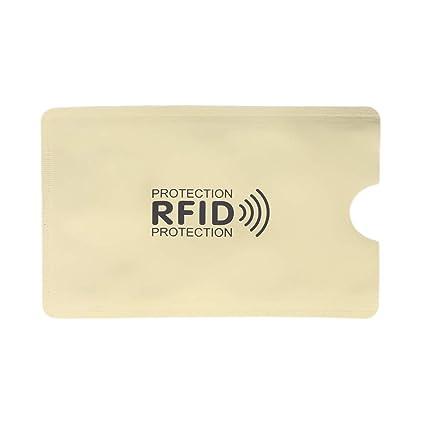 Roydoa - Funda Protectora para Tarjetas de crédito con ...