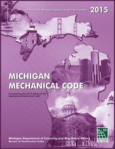 2015 Michigan Mechanical Code