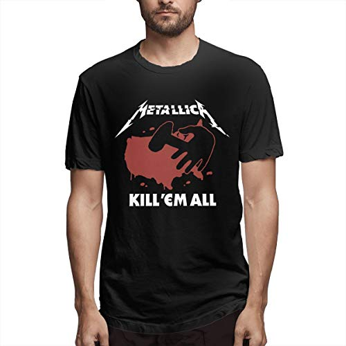 Martina Houston Metallica Men's Short Sleeve T-Shirts for sale  Delivered anywhere in Canada