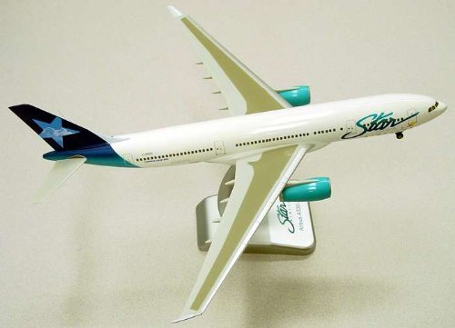 Hogan Star Airlines (Daron Worldwide Trading HG2025G Hogan Star Airlines A330-200 1/200 with Gear by Ben Hogan)