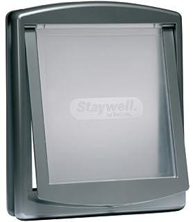 Petsafe Staywell Original - Puerta para mascotas, 2 canales