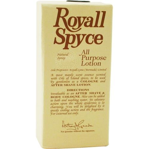 ROYALL SPYCE by Royall Fragrances AFTERSHAVE LOTION COLOGNE SPRAY 4 OZ K339945
