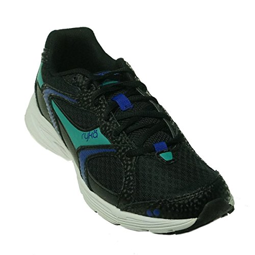 Ryka Streak SMR Women's Black/Blue Running Sneakers 10M