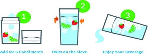 Sieve Drinkware Tumblers Pink Lady 20 oz