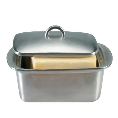 Danesco Stainless Steel Double Walled Butter Box