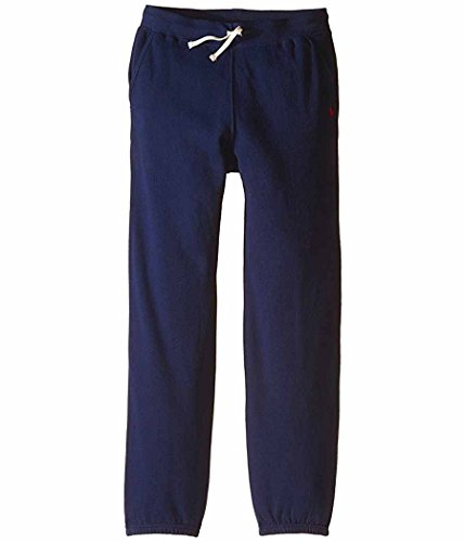 Polo Ralph Lauren Boys Fleece Cotton Sweatpants (French Navy, X-Large / 18-20)