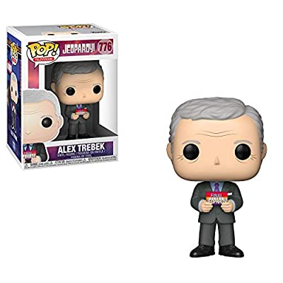 Funko Pop! TV: Jeopardy - Alex Trebek (Styles May Vary), Multicolor: Toys & Games