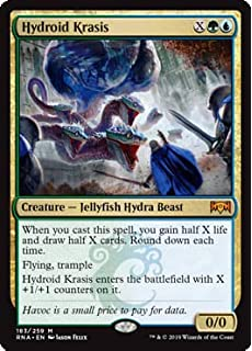Amazon Com Magic The Gathering Hydroid Krasis Foil Ravnica Allegiance Toys Games Havoc is a a small price to pay for data. amazon com magic the gathering