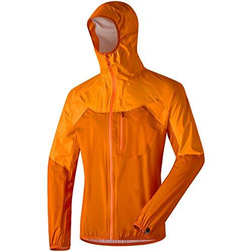 Dynafit Men's Transalper Dyna Shell 3 Layer Jacket, Medium, Carrot (Insulated Superlight Jacket)