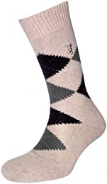 Best Sale Men 1 Pair 85 Cashmere Argyle Socks