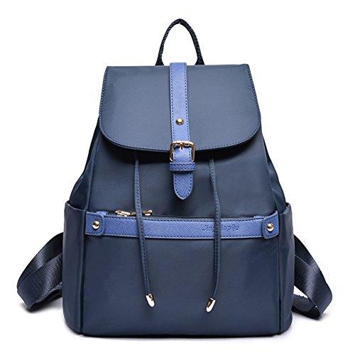 La Sra versión coreana de la mochila/Colegio viento bolsas de viaje de la moda minimalista-A B
