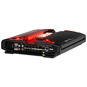 BOSS Audio PF1800 Phantom 1800 Watt, 4 Channel, 2/4 Ohm Stable Class A/B, Full Range, Bridgeable, MOSFET Car Amplifier with Remote Subwoofer Control
