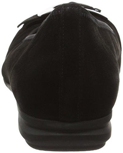 Sport Ballerine Nero 47 Donna Gabor Comfort schwarz SwqR5z4