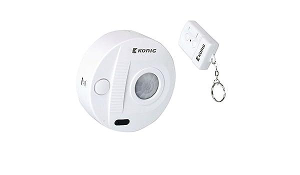 Mini sistema de alarma de techo con sensor de movimiento + alarma + mando a distancia juego de vigilancia de la seguridad: Amazon.es: Bricolaje y ...