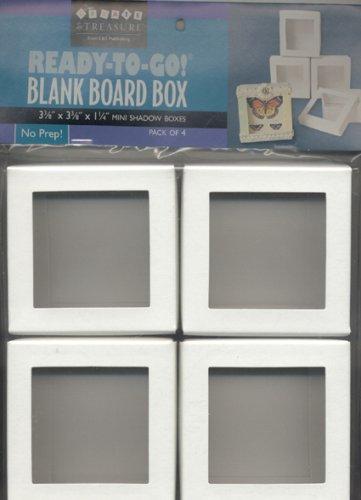 Download Ready-to-Go! Blank Board Box: Mini Shadow Boxes pdf