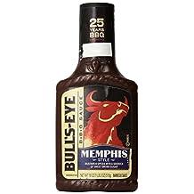 Bull's-Eye, BBQ Sauces, 18oz Bottle (Pack of 3) (Choose Flavors Below) (Memphis Style Regional)