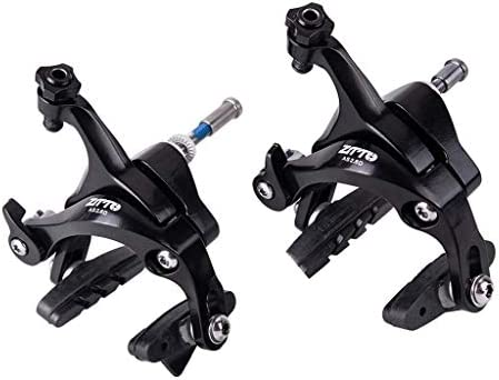 Perfeclan 自転車用品 デュアルピボット フロント+ リアブレーキキャリパー セット 19インチ21インチホイール用 2個入