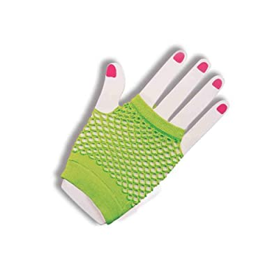 Forum Novelties Women's Fishnet Fingerles Gloves