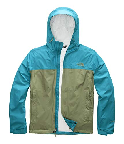 The North Face Men's Venture 2 Jacket Four Leaf Clover/Crystal Teal X-Large
