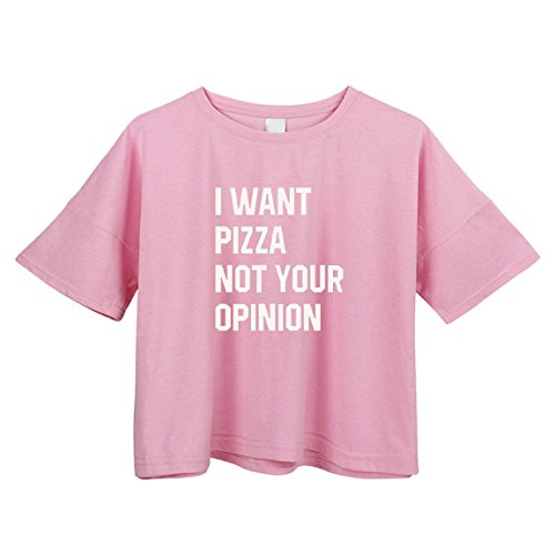 BLACKMYTH Women's Loose T Shirt Short Sleeve Graphic Crop Top Tees