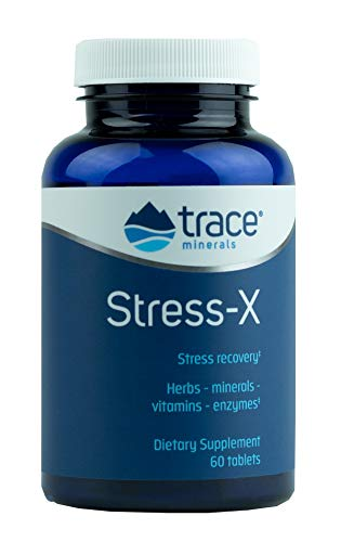 Trace Minerals Stress-X Tablets, 60-Count