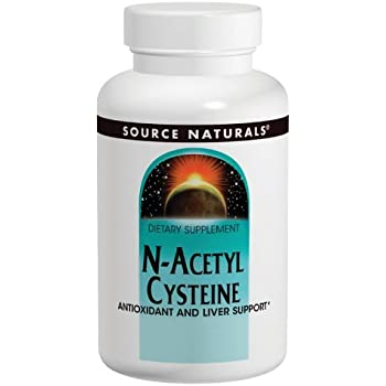 SOURCE NATURALS N-Acetyl Cysteine 1000 Mg Tablet, 120 Count