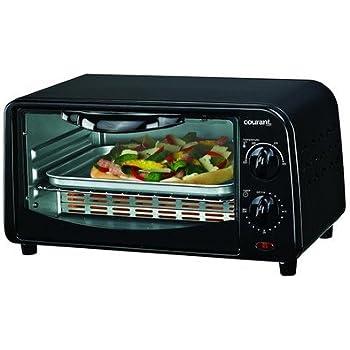 Amazon Com Countertop Toaster Oven Color Black Kitchen