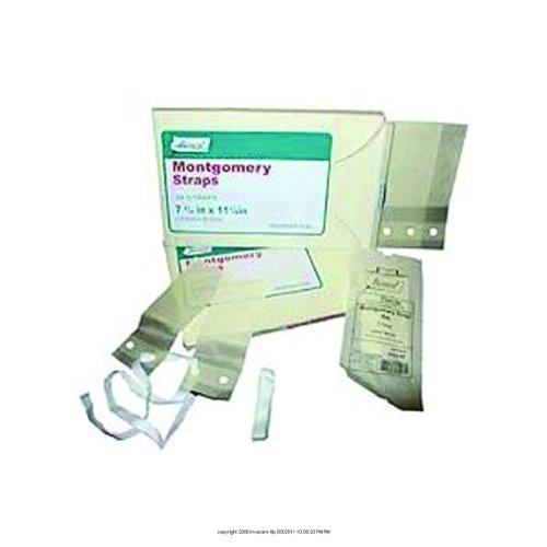 Bioseal Montgomery Straps (Bioseal Montgomery Straps, Montgomery Strp 7.25X11, (1 PACK, 24 EACH))