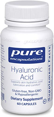 Pure Encapsulations – Hyaluronic Acid – Hypoallergenic Supplement