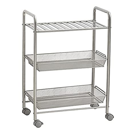 salt 3 tiered bathroom cart - Bathroom Cart