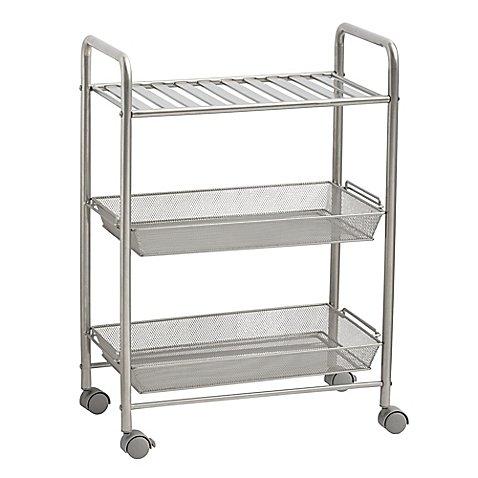 SALT 3-Tiered Bathroom Cart