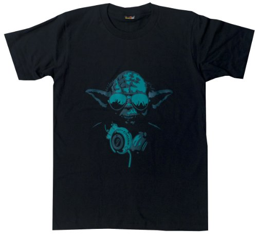 Dj yoda star wars vintage funny t shirt mens womens youth for Vintage star wars t shirts men