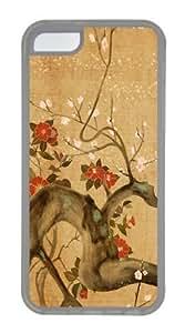 Cherry Tree Artistic Custom iPhone 5C Case Cover TPU Transparent