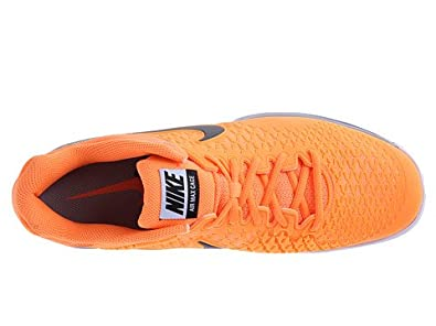 pretty nice b4288 59869 Image Unavailable. Image not available for. Color  Nike Men s Air Max Cage  Atomic Orange Metallic ...