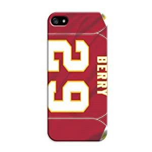 Personalized Monogram Iphone 5C Case Iphone 5C pc hard Back Cover Kansas City Chiefs Football Nfl